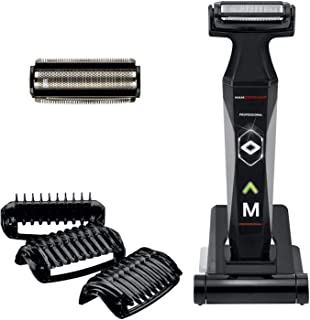 MANGROOMER 2.0 Professional Body Groomer, Ball Groomer & Body Trimmer With Propivot Flexing Head, 3 trimmer Combs, Wet/ Dr...