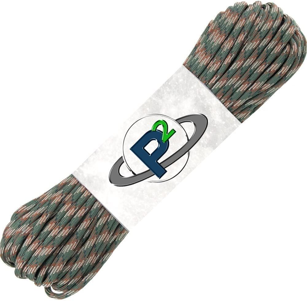PARACORD PLANET San Jose Mall 100' Hanks Parachute 550 III 7 Cord Type OFFer Strand
