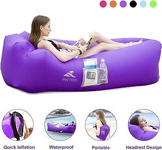 FRETREE Inflatable Lounger Air Sofa Hammock - Portable...