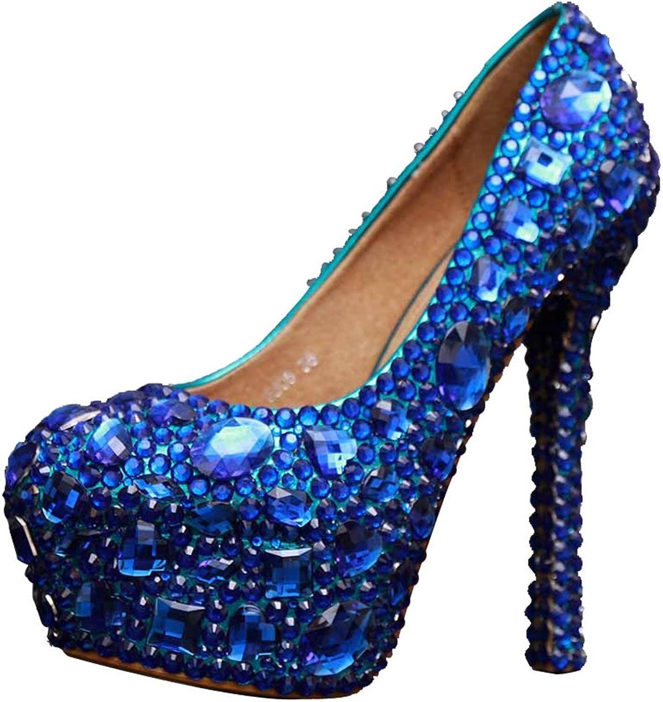 Miyoopark LL090 Women's Platform Bridal Bridesmaid Wedding Evening Pumps shoes