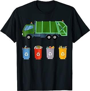 Recycling Trash Truck Shirt Kids Garbage Truck T Shirt
