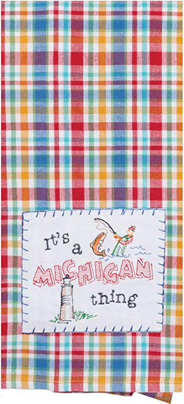 Kay Dee Designs ST Thing Michigan APQ Tea Dish Towel 18 X 28 Various