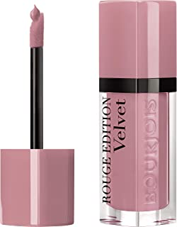 Bourjois Rouge Edition Velvet Liquid Lipstick, 1 Don't Pink It!, Pink