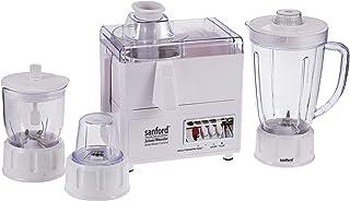 Sanford 4 In 1 Juicer Blender 400 Watts 1.6 Litre, Sf5501Jb Bs