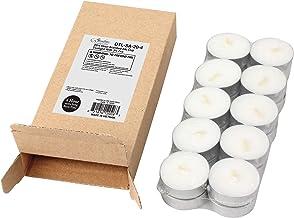 Stonebriar 4 Hour Citronella Tea Light Candles, 20 Pack, Tin Cup