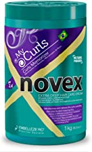Embelleze Novex My Curls Deep Conditioning Hair Mask Cream (35.2oz) Moisturizing Treatment Defines Curls, Controls Volume, Reduces Frizz, Adds Softness, for All Curly Hair Types