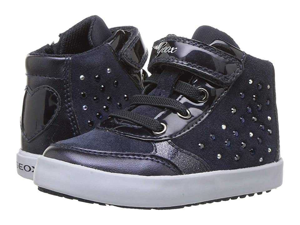 Geox Kids Kilwi Girl 34 (Toddler) (Navy) Girl