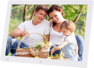 Digital Photo Frame,17-inch HD 1440X900 LED Electronic Picture Display with Motion Sensor MP3 / MP4 Player Support Music V...