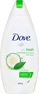 Dove Body Wash Fresh Touch 375ml