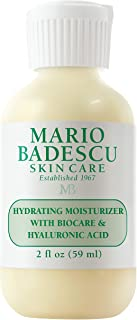 Mario Badescu Hydrating Moisturizer with Biocare & Hyaluronic Acid, 2 Fl Oz