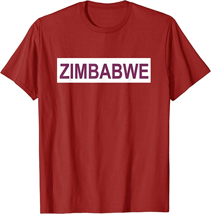 Zimbabwe T Shirt for Men|Women|Kids