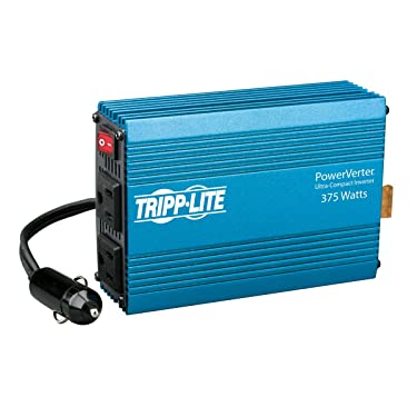Tripp Lite 375W Car Power Inverter with 2 Outlets, Auto Inverter, Ultra Compact (PV375)