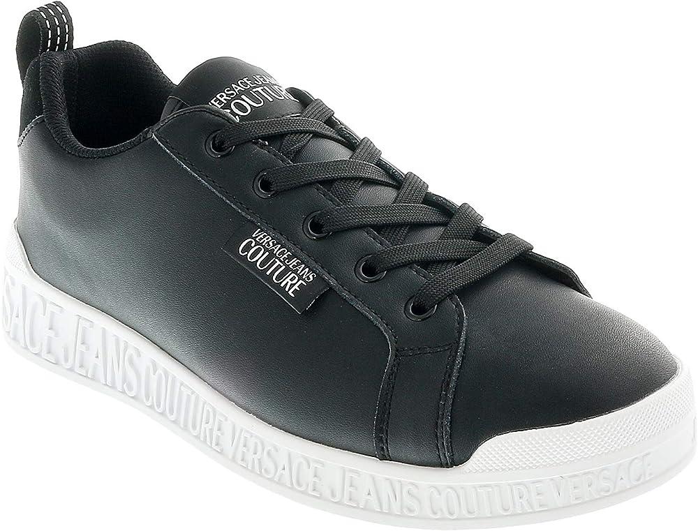 Versace, scarpe sneakers per donna, in pelle E0VVBSP171523