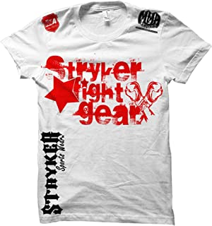 Stryker Fight Gear Sidewalk Star Gloves Mens MMA T-Shirt