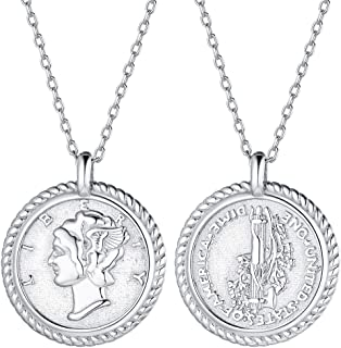 Best sterling silver coin necklace Reviews