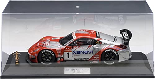 NISSAN   XANAVI NISMO Z  2004 JGTC TEAM & DRIVERS CHAMPION SPECIAL EDITION  1 (SATOSHI MOTOYAMA)(WITH DRIVER FIGURINE LIMITED EDITION OF 1,000 PIECES WORLDWIDE) AutoArt 1 18