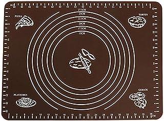 ZHEBEI Tapis de cuisson avec tapis de cuisson pour mesurer la pâtisserie, le café