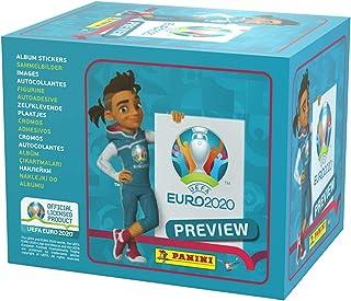 Panini- Paquetes de colección de Pegatinas Euro 2020, x60 Packs (EP20STP)