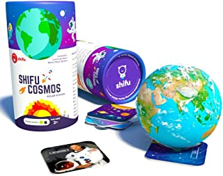 Shifu Cosmos Solar System Educational Game Toy for Kids, Multi-Colour, 20 Cards