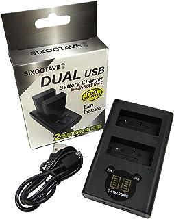 str 富士フィルム FUJIFILM NP-W126 / NP-W126S 用 デュアル USB 急速互換充電器 カメラ バッテリー チャージャー BC-W126 / BC-W126S [バッテリー2個まで同時充電可能 純正 互換電池共に対応 ] X100F / X-T20 / X-A3 / X-A1 / X-T2 / X-E2S / X-Pro2 / X-T10 / X-A10 / X-T1 / X-Pro1 / X-M1 / X-E2 / X-E1 / X-A2 / X-E3 / X-H1 / X-T3 / X-T30 / X-T100 / FinePix HS30 EXR / FinePix HS50 EXR / FinePix HS33EXR / FinePix HS35EXR