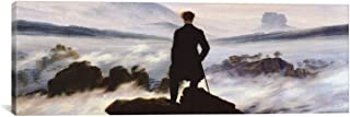 iCanvasART 1402PAN-1PC3-36x12 The Wanderer Above The Sea of Fog Canvas Print