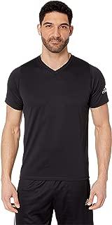 [adidas(アディダス)] メンズタンクトップ・Tシャツ Freelift V-Neck T-Shirt Black XS [並行輸入品]