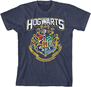 Hogwarts Distressed Boys Youth T-Shirt Licensed