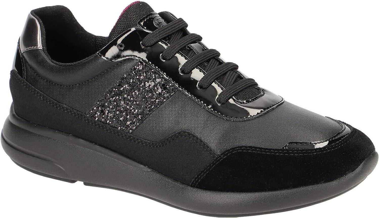 Geox Damen Damen Laufschuhe, Farbe Schwarz, Marke, Modell Damen Laufschuhe D Ophira C Schwarz  billig und hochwertig