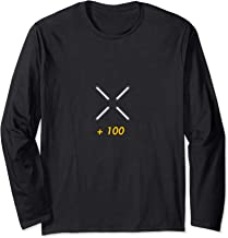Video Game FPS Shooter Hitmarker Exp +100 Gamer Streetwear Long Sleeve T-Shirt