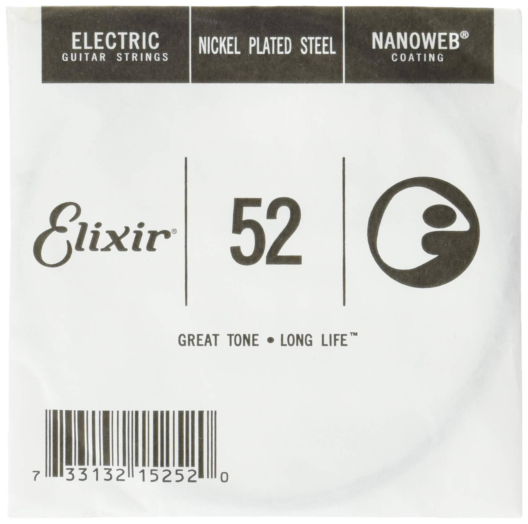 Cheap Elixir Strings Electric Guitar String NANOWEB Coating .052 Black Friday & Cyber Monday 2019