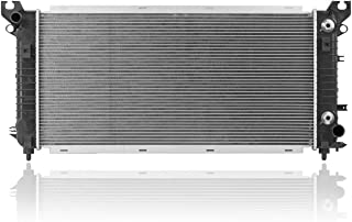Radiator - Cooling Direct For/Fit 13723 16-17 Cadillac Escalade/ESV 16-19 Chevrolet Silverado 1500 16-19 Suburban/Tahoe 5.3L/6.2L V8 (Without Towing Package)