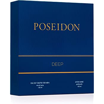Pack Perfume Hombre - Poseidon Deep - Perfume y After Shave ...