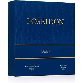 Instituto Español Pack Perfume Hombre - Poseidon Deep - Perfume y After Shave (13517): Amazon.es: Belleza