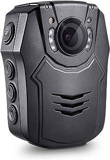 Boblov Cuerpo de Policía Worn Cámara de Vídeo Visión Nocturna Infrarroja 1080P HD Advierte Las Videocámaras La Grabadora De Voz Video 64GB TF (32GB)