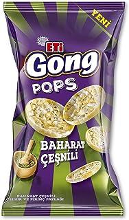 Eti Gong Pops Baharat Çeşnili Mısır Ve Pirinç Patlağı 80 g