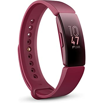 Fitbit Inspire Fitness Tracker, One Size (S and L Bands Included)