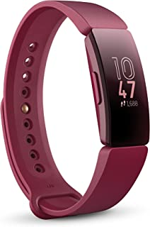 Fitbit Inspire Health and Fitness Tracker with Auto-Exercise Recognition, 5 Day Battery, Sleep and Swim Tracking, Sangria