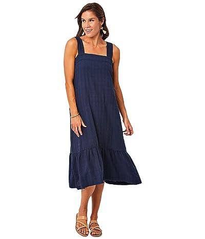 Carve Designs Rayne Dress (Navy) Women