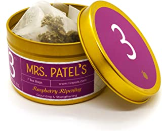 Mrs. Patel's Pregnancy Tea, 3rd Trimester, Red Raspberry and Dandelion Leaf, Energize and Prep for Labor, For Pregnant Mom...