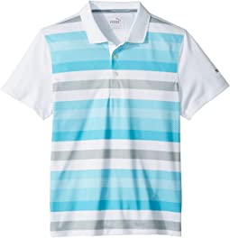 Turf Stripe Polo Jr (Big Kids)