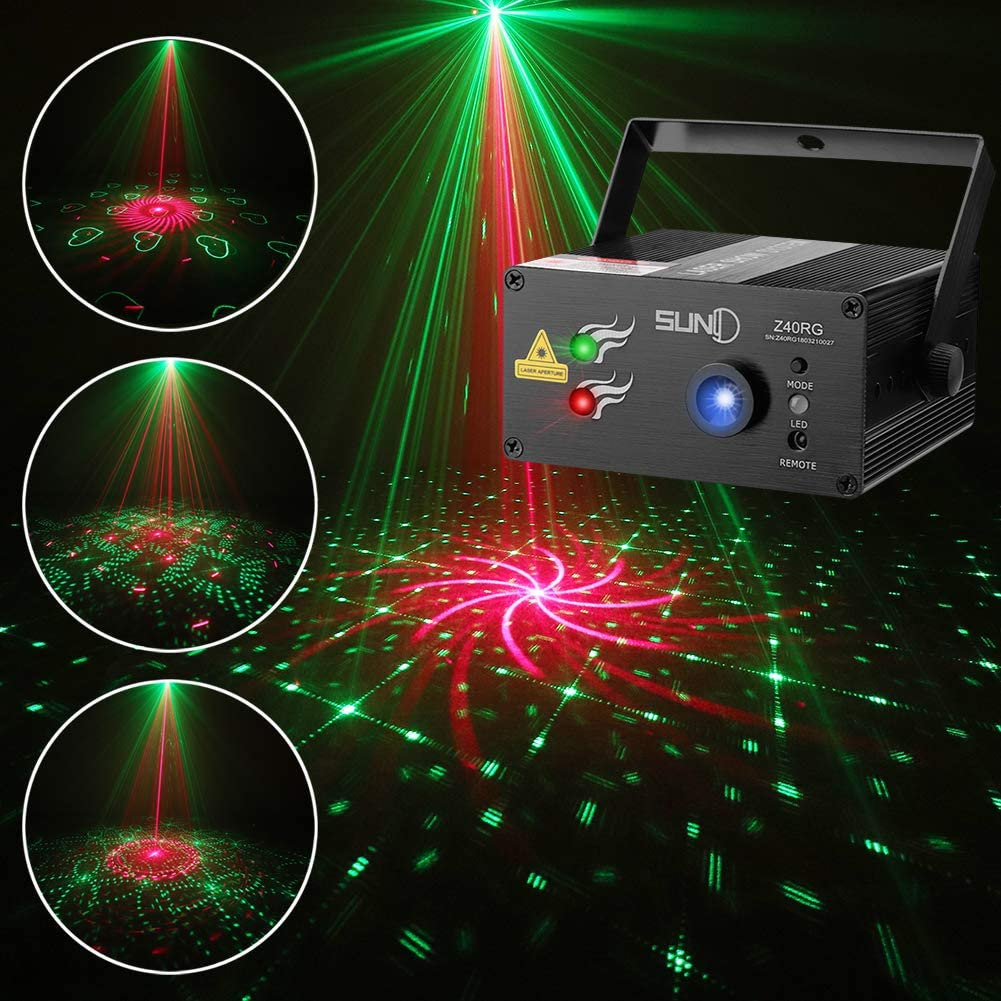 DJ Laser High material Lights SUNY Music Patterns 40 Projector Stage Max 85% OFF RG
