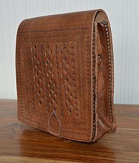 Amazon.es: bolsos de cuero marroqui mujer