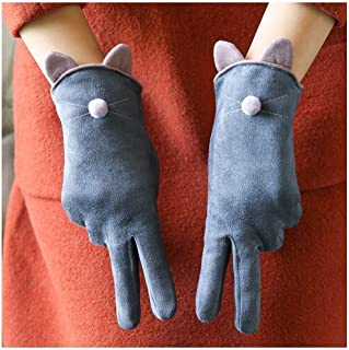 XAZTY Winter Gloves, Plus Velvet Warm Touch Screen Gloves