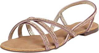 Catwalk Women's Embellished Strappy Sandals