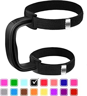 Yoelike - 5 Colors - New Upgrade Anti-Slip Adjustable Tumbler Handle Fit for 20 Oz to 40 Oz of YETI, RTIC, Ozark Trail, Travel Mug, SIC, Rambler, Travel Cup and All Brands Tumbler Cup