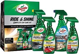 Turtle Wax 50718 Ride & Shine Complete Car Care Kit, 73. Fluid_Ounces