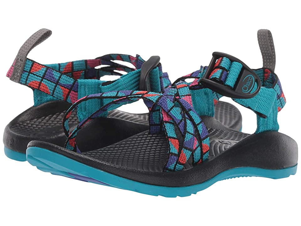Chaco Kids ZX/1(r) Ecotread (Toddler/Little Kid/Big Kid) (Break Teal) Girls Shoes