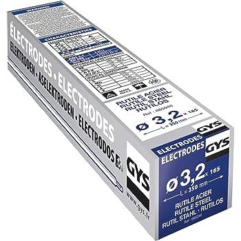 Gys 085039 - Electrodos para soldadura (3,2 mm, 4,85 kg, acero): Amazon.es: Industria, empresas y ciencia