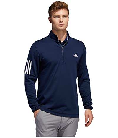 adidas Golf 3-Stripe Midweight Layer (Collegiate Navy/Grey Three F17) Men