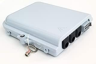 Bud Industries FBR-11608 12 Core Fiber Optic Distribution Box